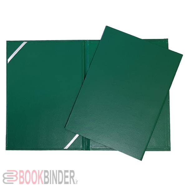 لوح تقدیر کتان گرد سبز